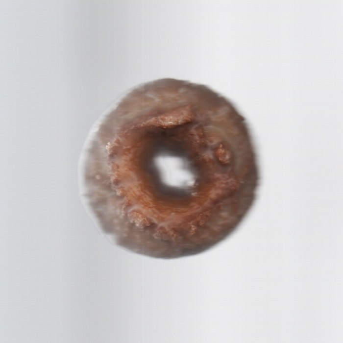 In honor of national doughnut day, I went and got a free doughnut and scanned it.