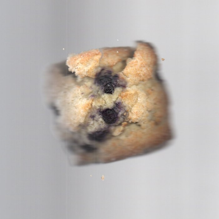 A starbucks blueberry scone